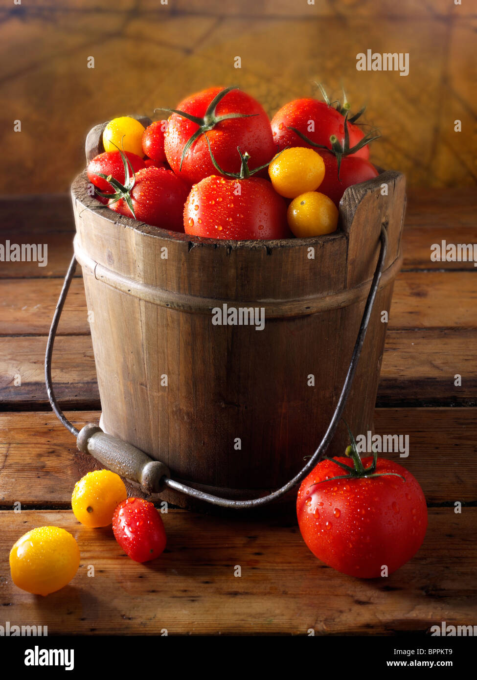Mixed tomatoes photos, pictures & images - Stock Image