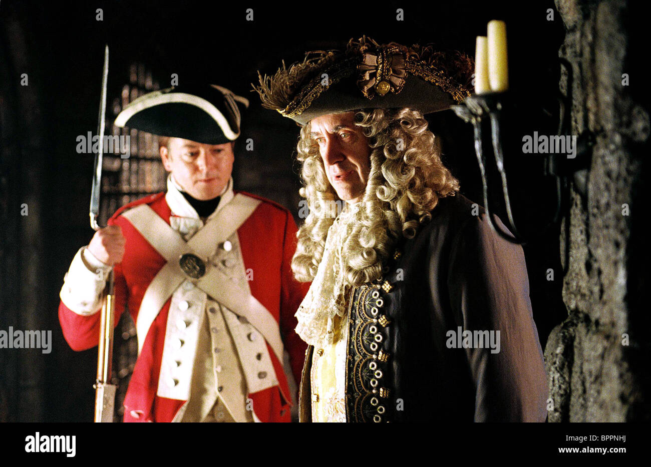 JONATHAN PRYCE PIRATES OF THE CARIBBEAN: DEAD MAN'S CHEST (2006) - Stock Image
