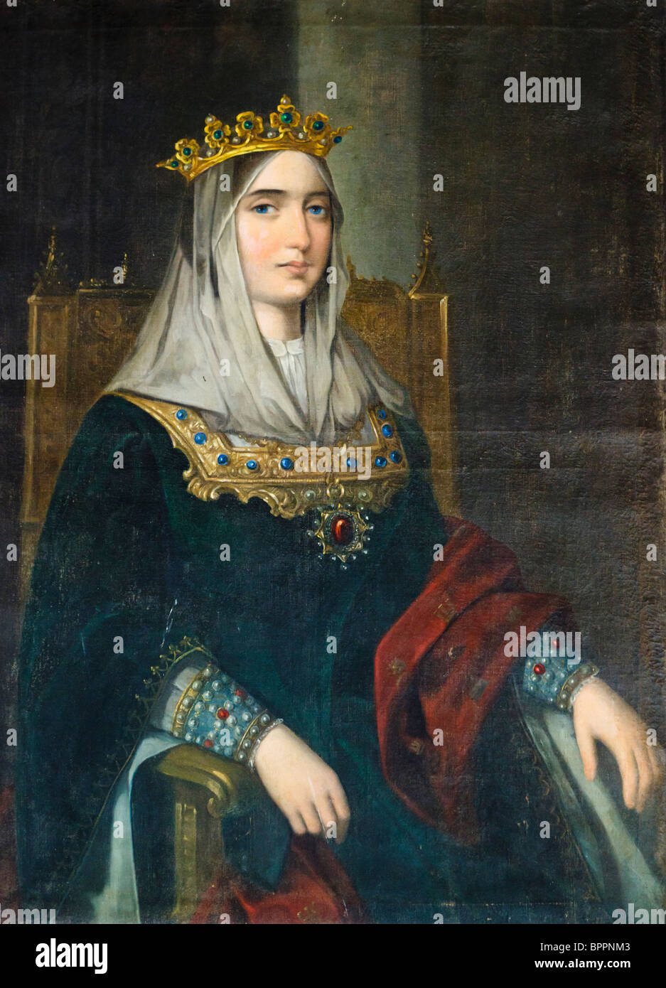 Isabella the Catholic, Isabel la Católica 1451 - 1504. Queen of Castile and of Aragon. - Stock Image