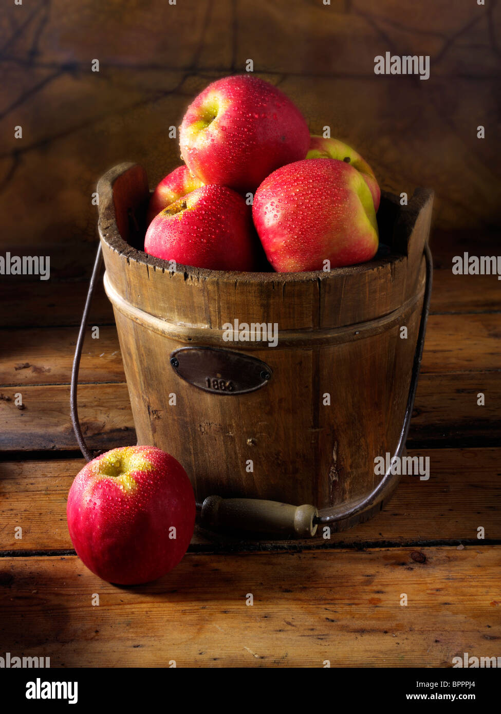 Pink Lady apples photos, pictures & images - Stock Image