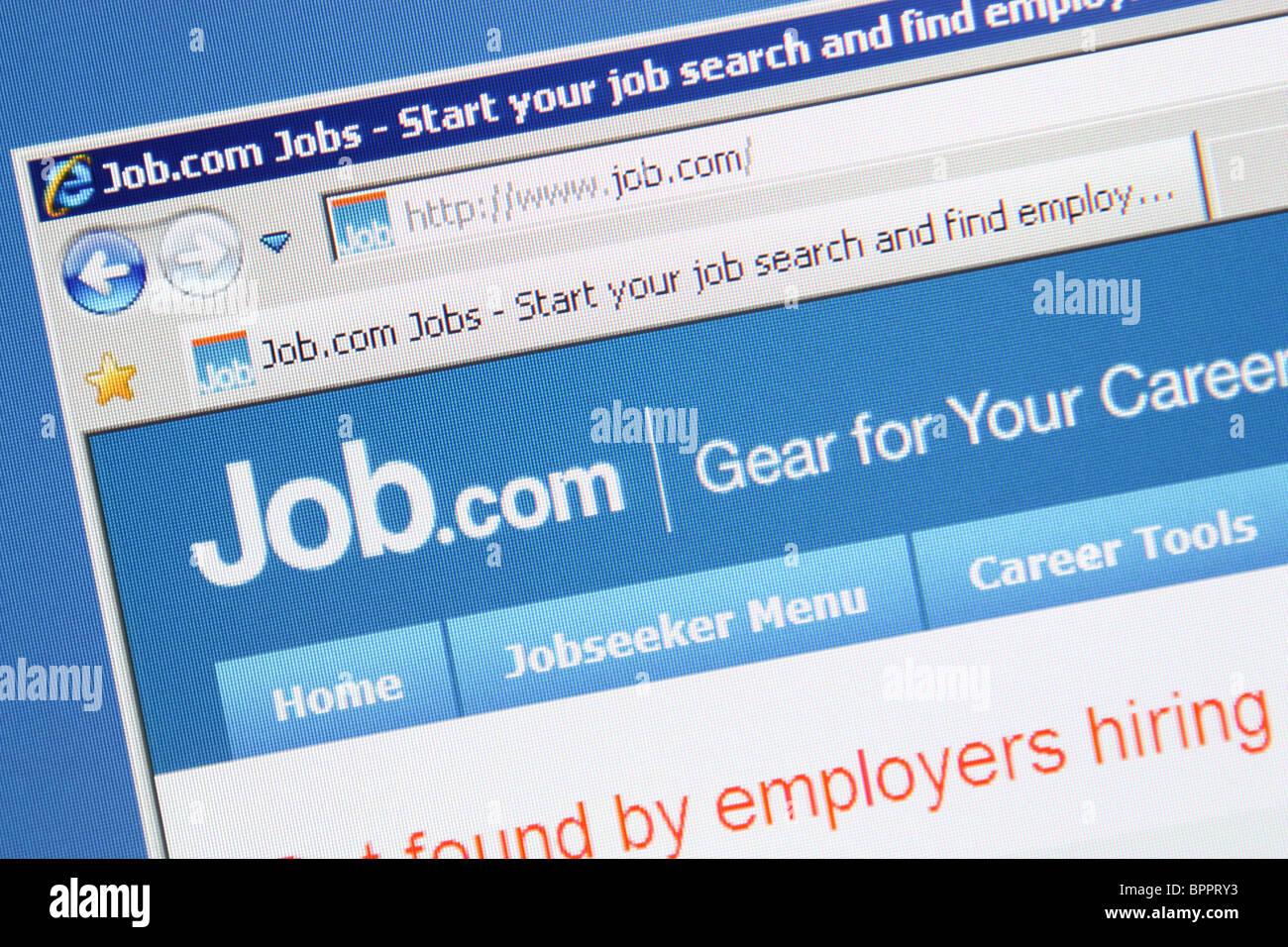 job.com online job search - Stock Image