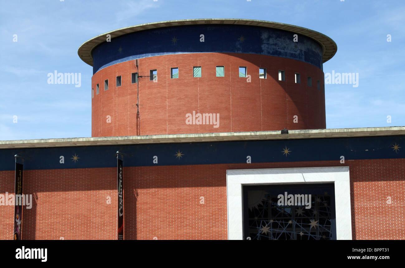 Planetary. I build belonging the planetary one of Pamplona, Navarre, Spain. - Stock Image