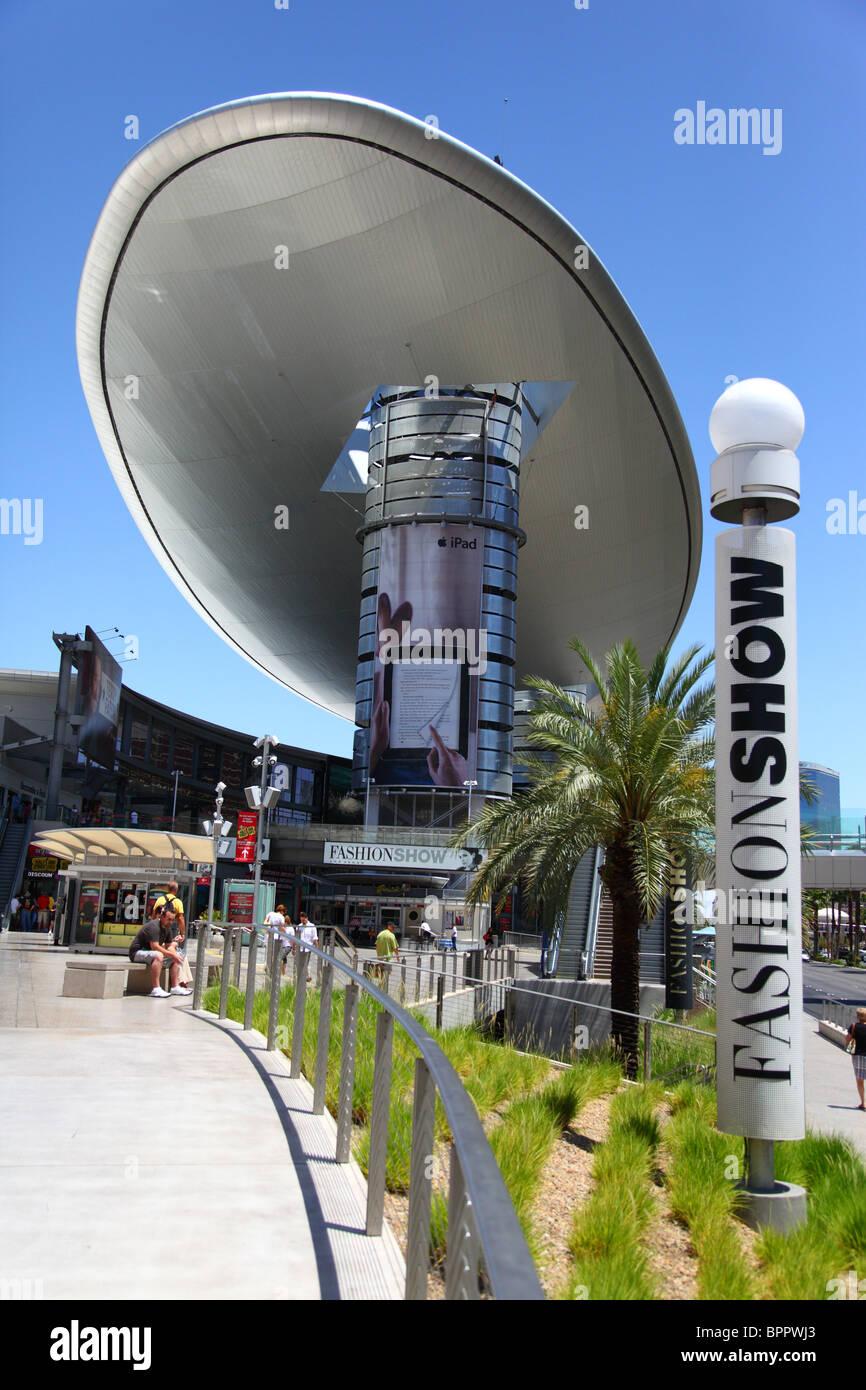 Fashion show mall, Las Vegas Nevada - Stock Image