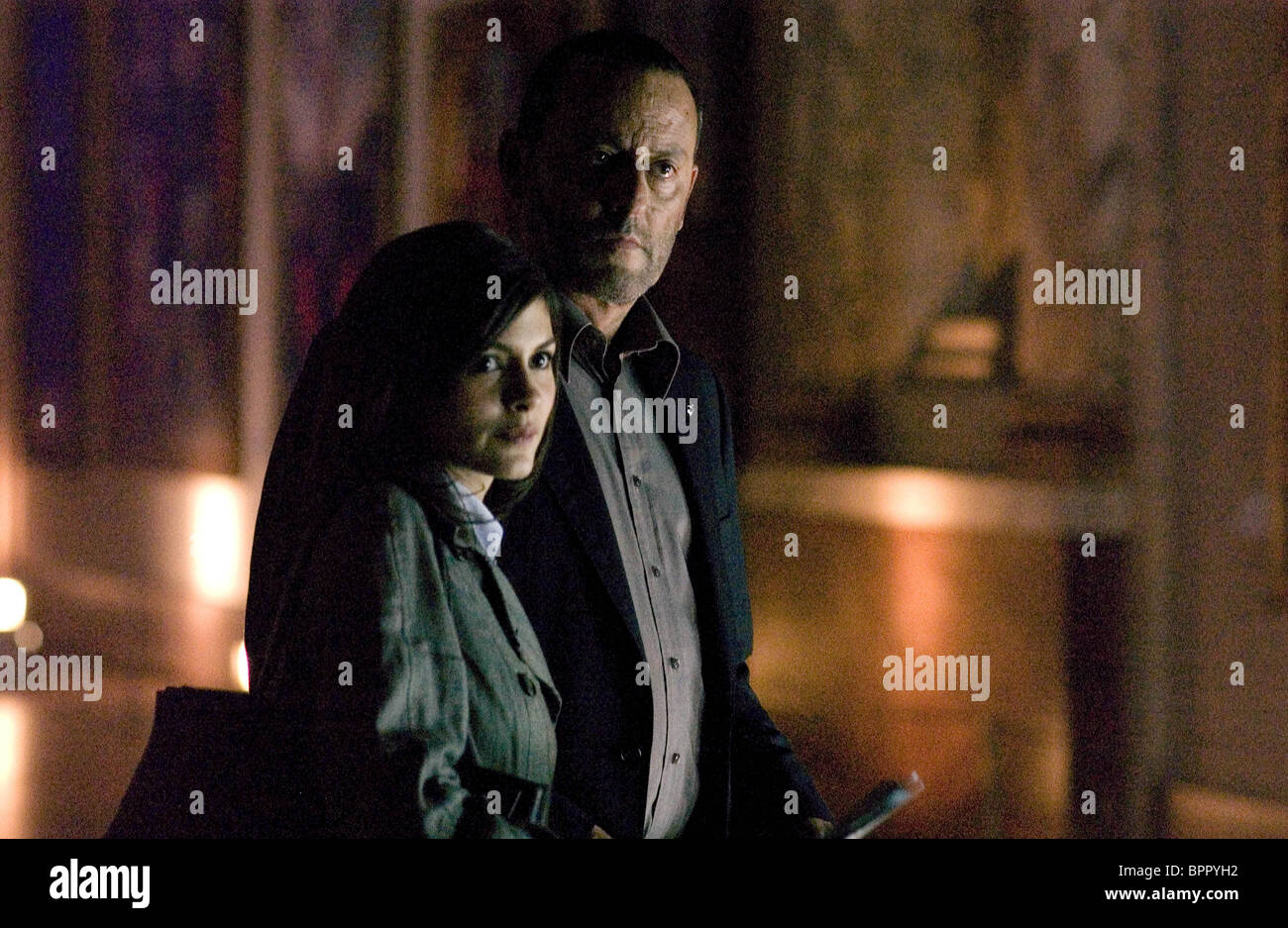 Audrey Tautou Jean Reno The Da Vinci Code 2006 Stock Photo Alamy