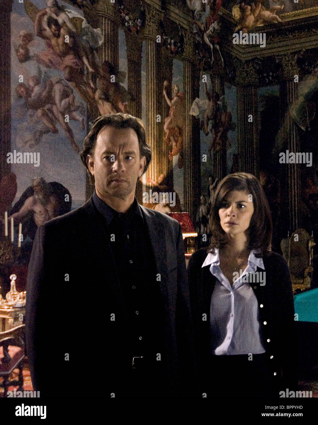 Tom Hanks Audrey Tautou The Da Vinci Code 2006 Stock Photo Alamy