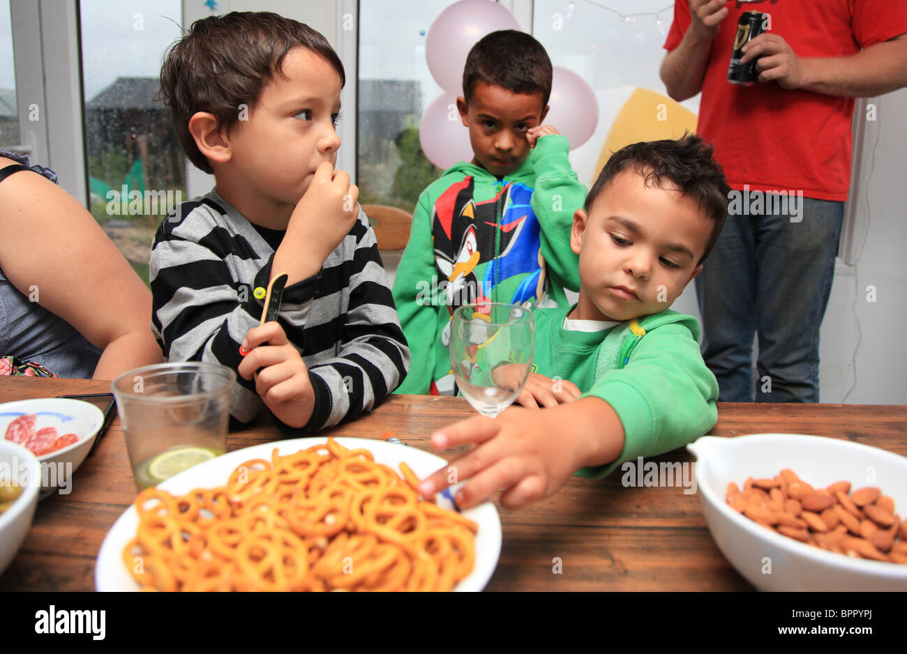 Kids party - Stock Image