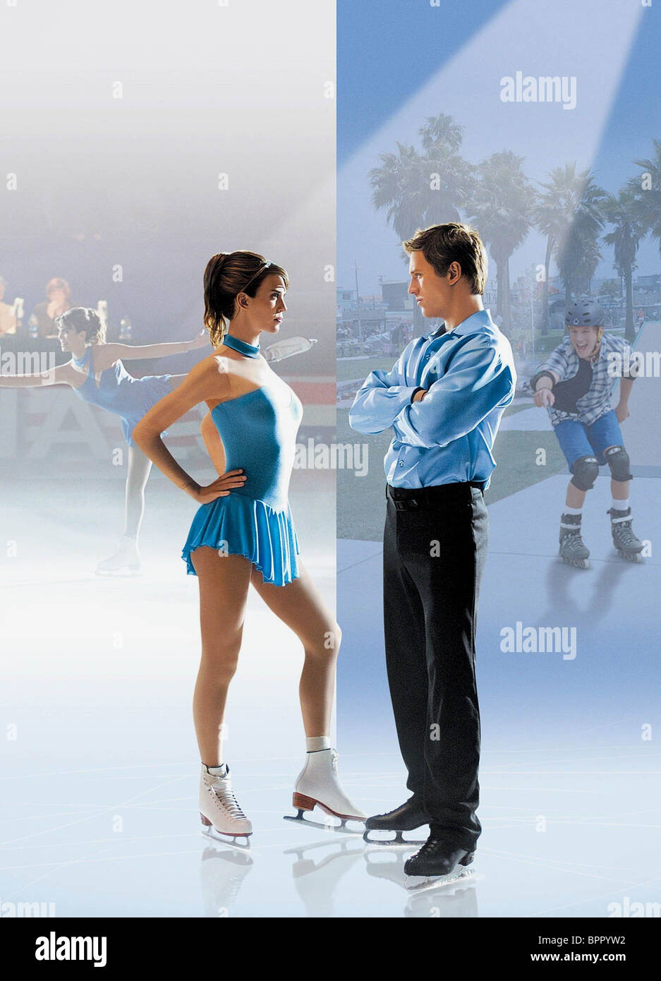 CHRISTY CARLSON ROMANO & ROSS THOMAS THE CUTTING EDGE: GOING FOR THE GOLD; THE CUTTING EDGE 2 (2006) - Stock Image