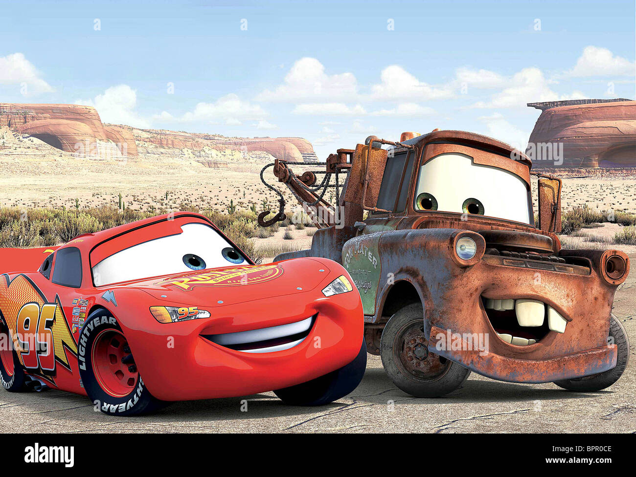 Lightning mcqueen mater cars 2006 stock photo 31238046 alamy - Images flash mcqueen ...