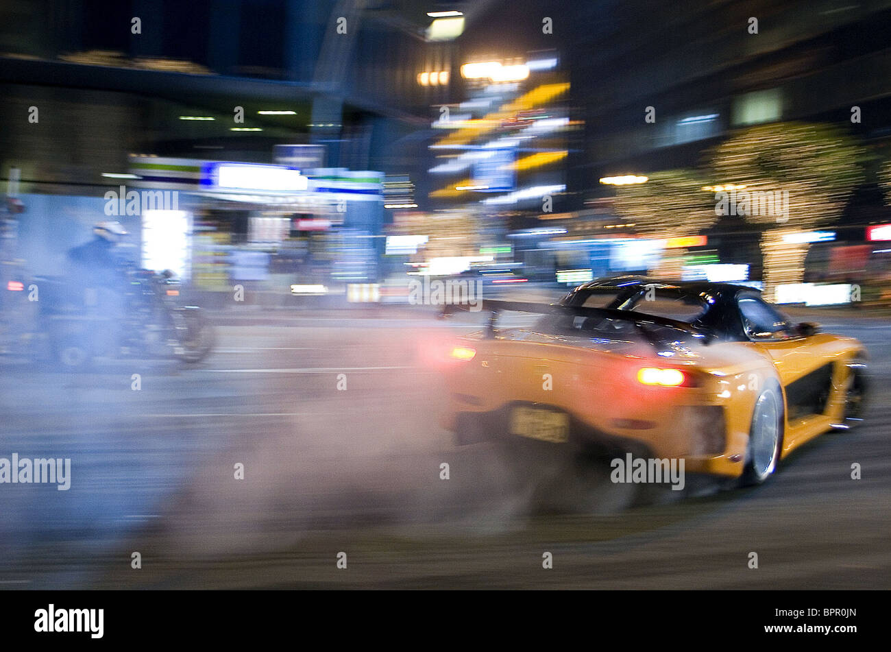 MAZDA RX7 RACE SCENE THE FAST AND THE FURIOUS 3