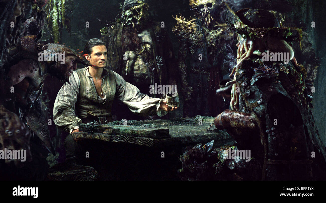 Orlando Bloom Pirates Of The Caribbean Dead Man S Chest 2006 Stock Photo Alamy