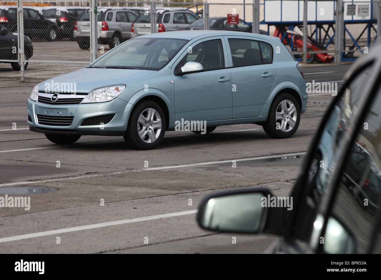 Opel Russia production begins - Stock Image
