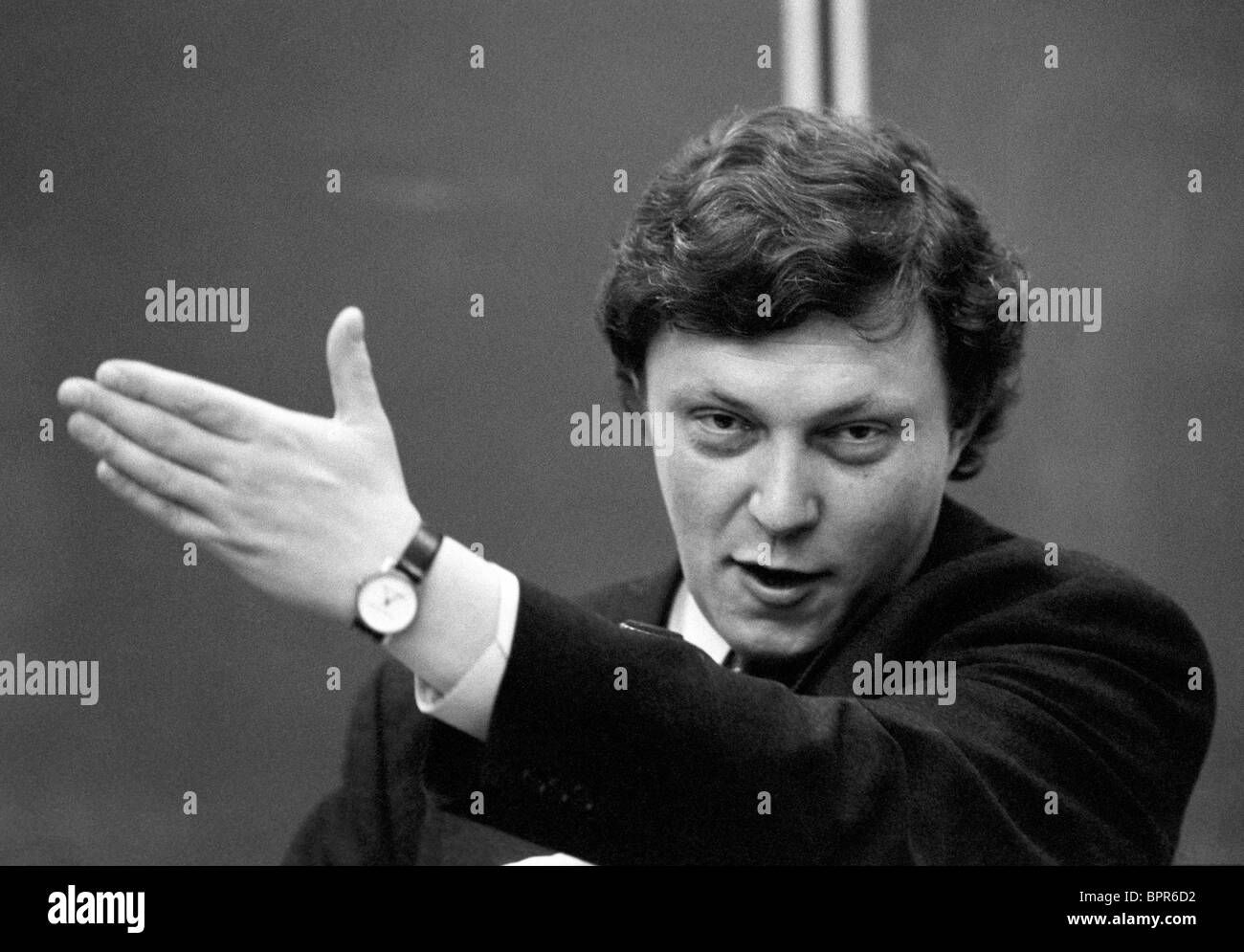 Grigory Yavlinsky, 1993 - Stock Image