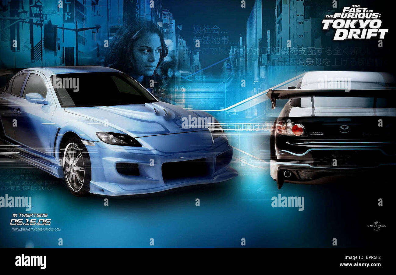 Fast And Furious 3 Full Movie >> Movie Poster The Fast And The Furious 3 The Fast And The
