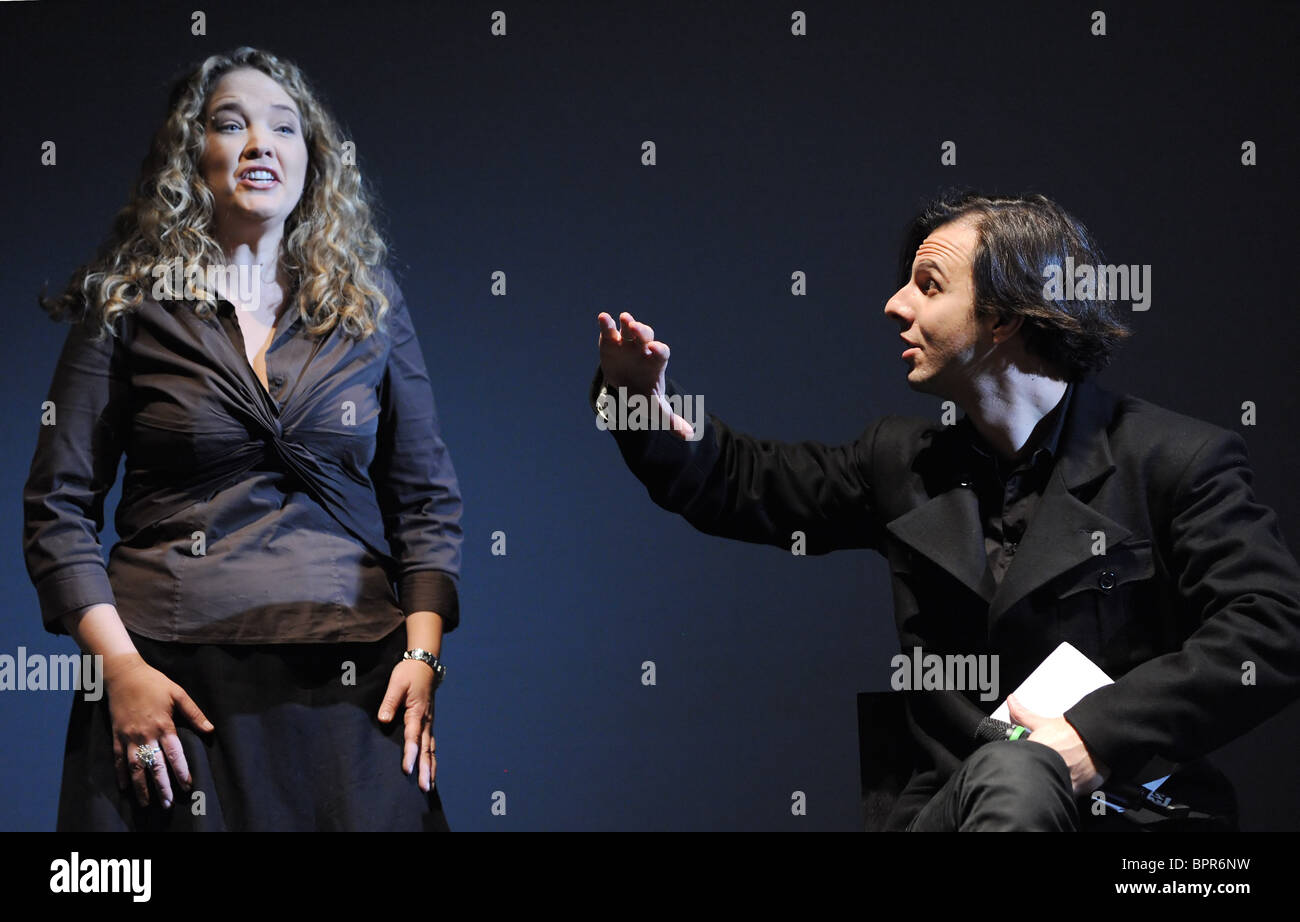 Wozzeck opera presented in Moscow - Stock Image