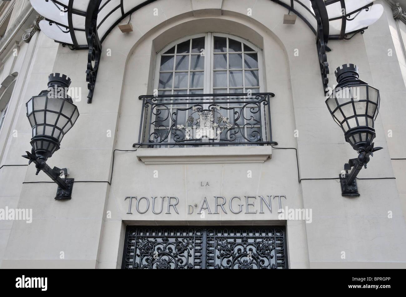 La Tour d'Argent restaurant,, Paris France - Stock Image
