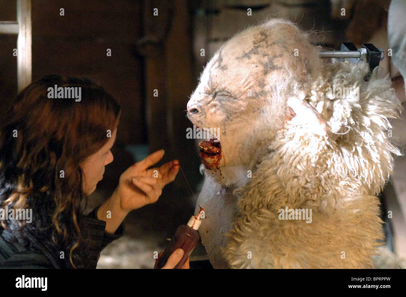 SPECIAL EFFECTS DEPT. BLACK SHEEP (2006) - Stock Image