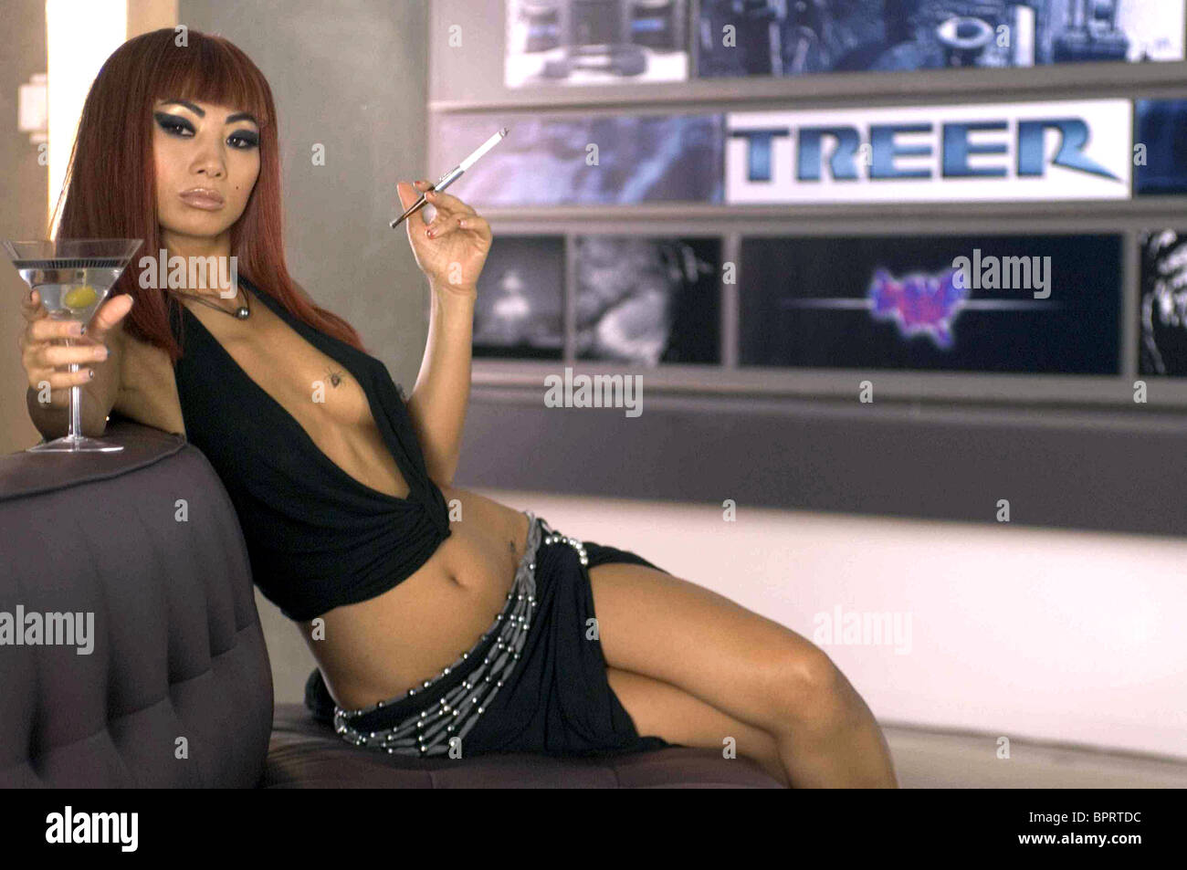 BAI LING SOUTHLAND TALES (2006) - Stock Image