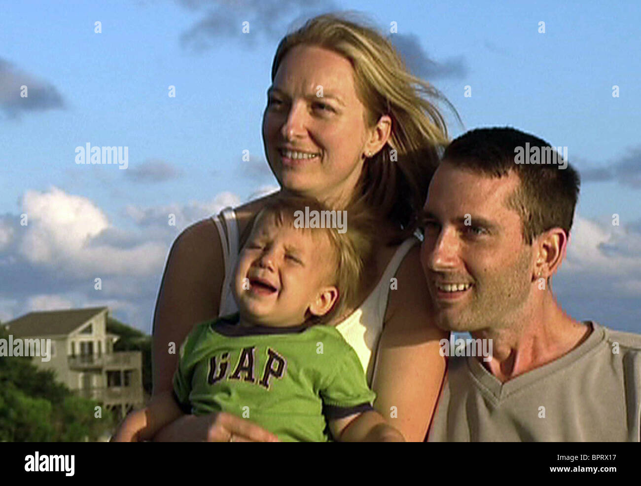 WIFE WENDY STACY, SON ALEX, STEPHEN HEYWOOD, SO MUCH SO FAST, 2006 Stock Photo