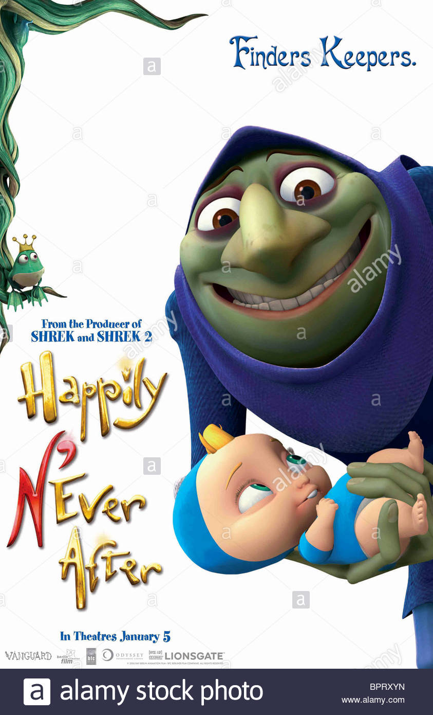 RUMPLESTILTSKIN POSTER HAPPILY NEVER AFTER; HAPPILY N'EVER AFTER (2006)