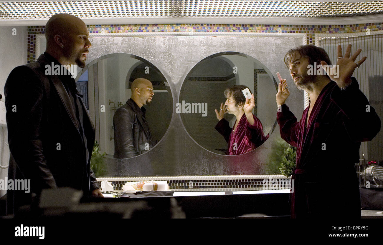 COMMON & JEREMY PIVEN SMOKIN' ACES; SMOKING ACES (2006) - Stock Image
