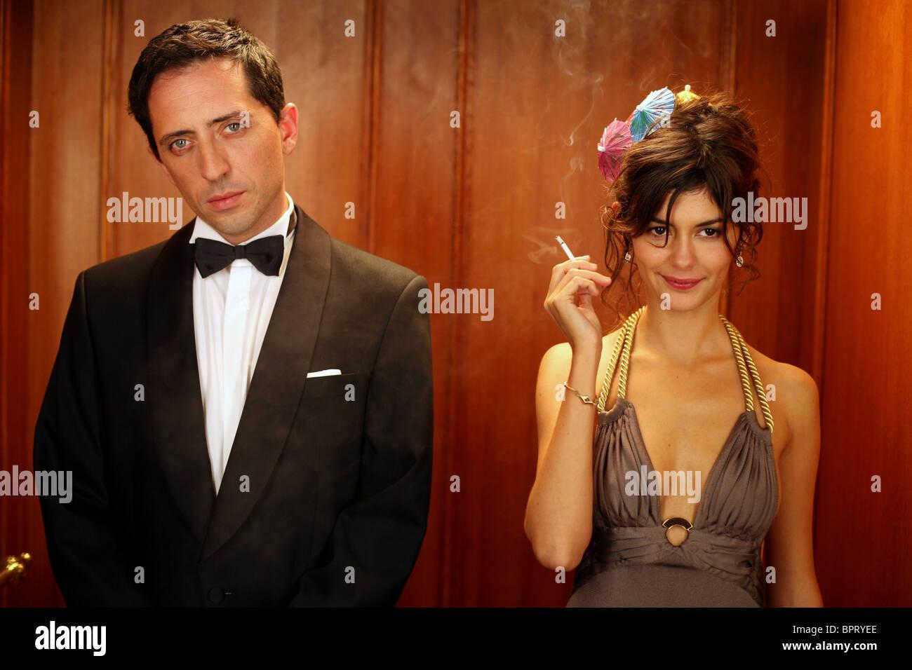 GAD ELMALEH & AUDREY TAUTOU PRICELESS; HORS DE PRIX (2006) - Stock Image