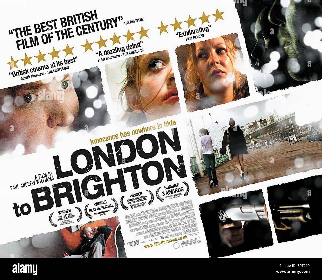 MOVIE POSTER LONDON TO BRIGHTON 2006