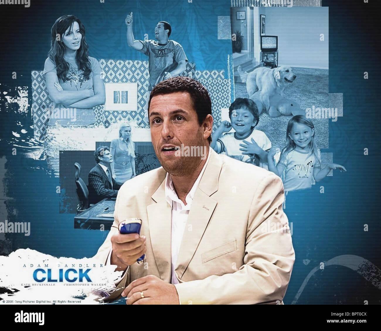 Adam Sandler Poster Click 2006 Stock Photo Alamy