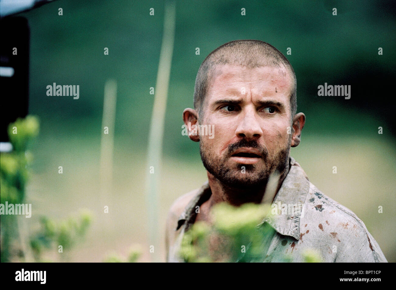 DOMINIC PURCELL PRIMEVAL (2007) - Stock Image