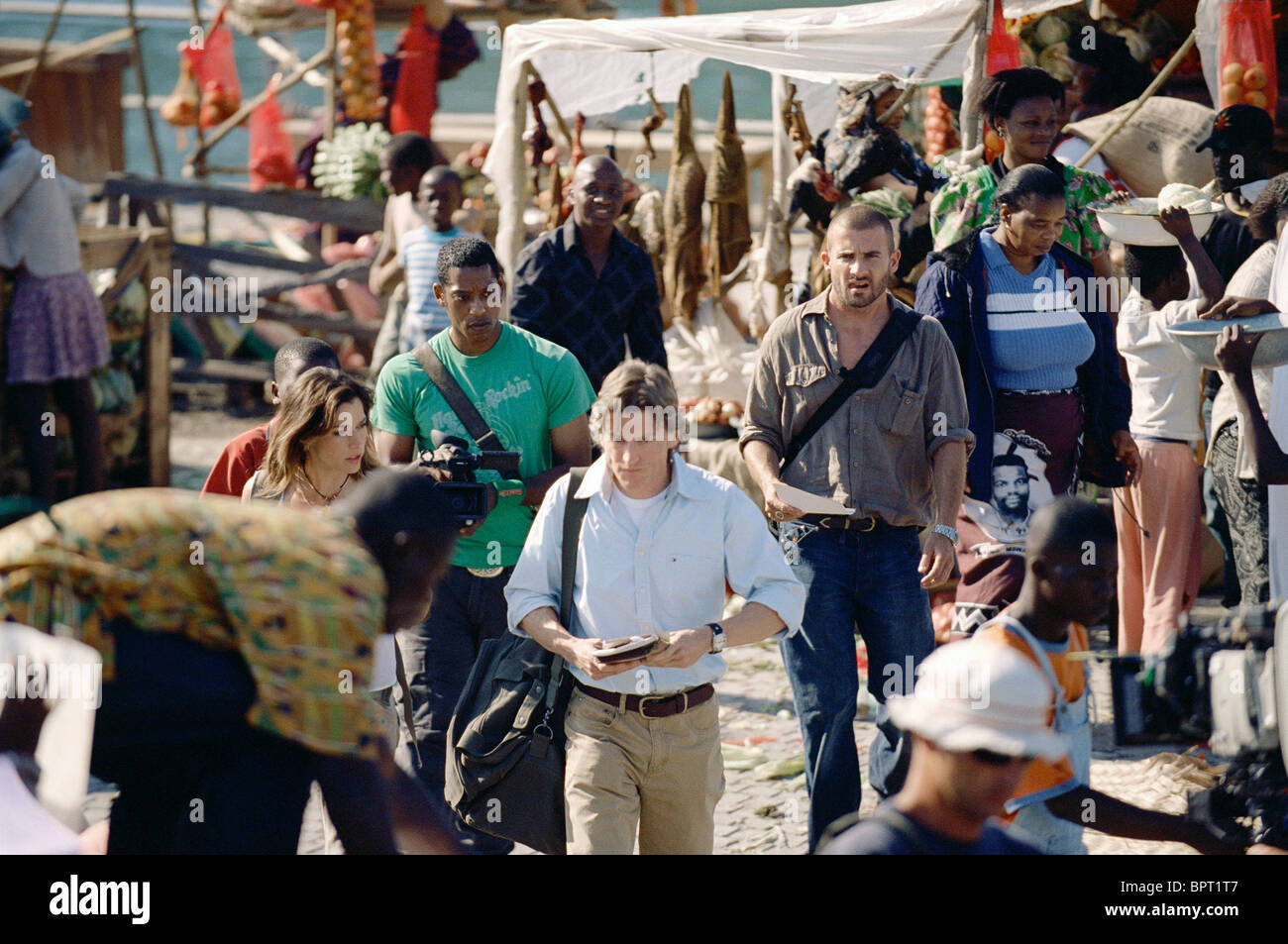 BROOKE LANGTON ORLANDO JONES GIDEON EMERY & DOMINIC PURCELL PRIMEVAL (2007) - Stock Image