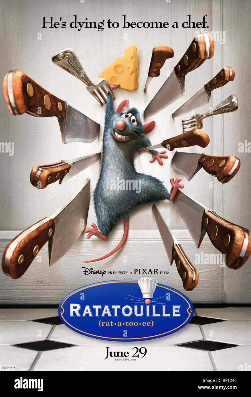 REMY RATATOUILLE (2007) - Stock Image