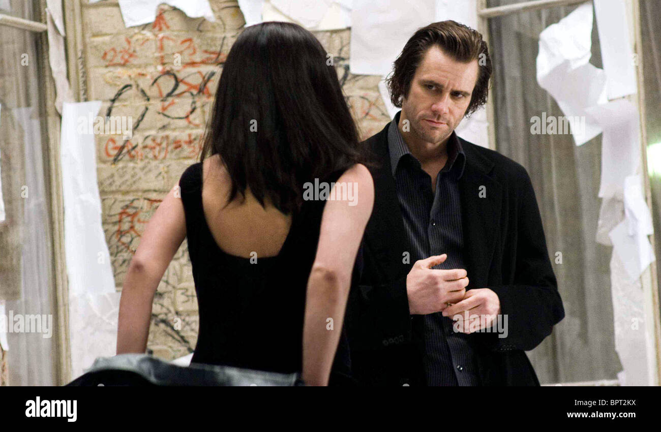 VIRGINIA MADSEN & JIM CARREY THE NUMBER 23 (2007) - Stock Image