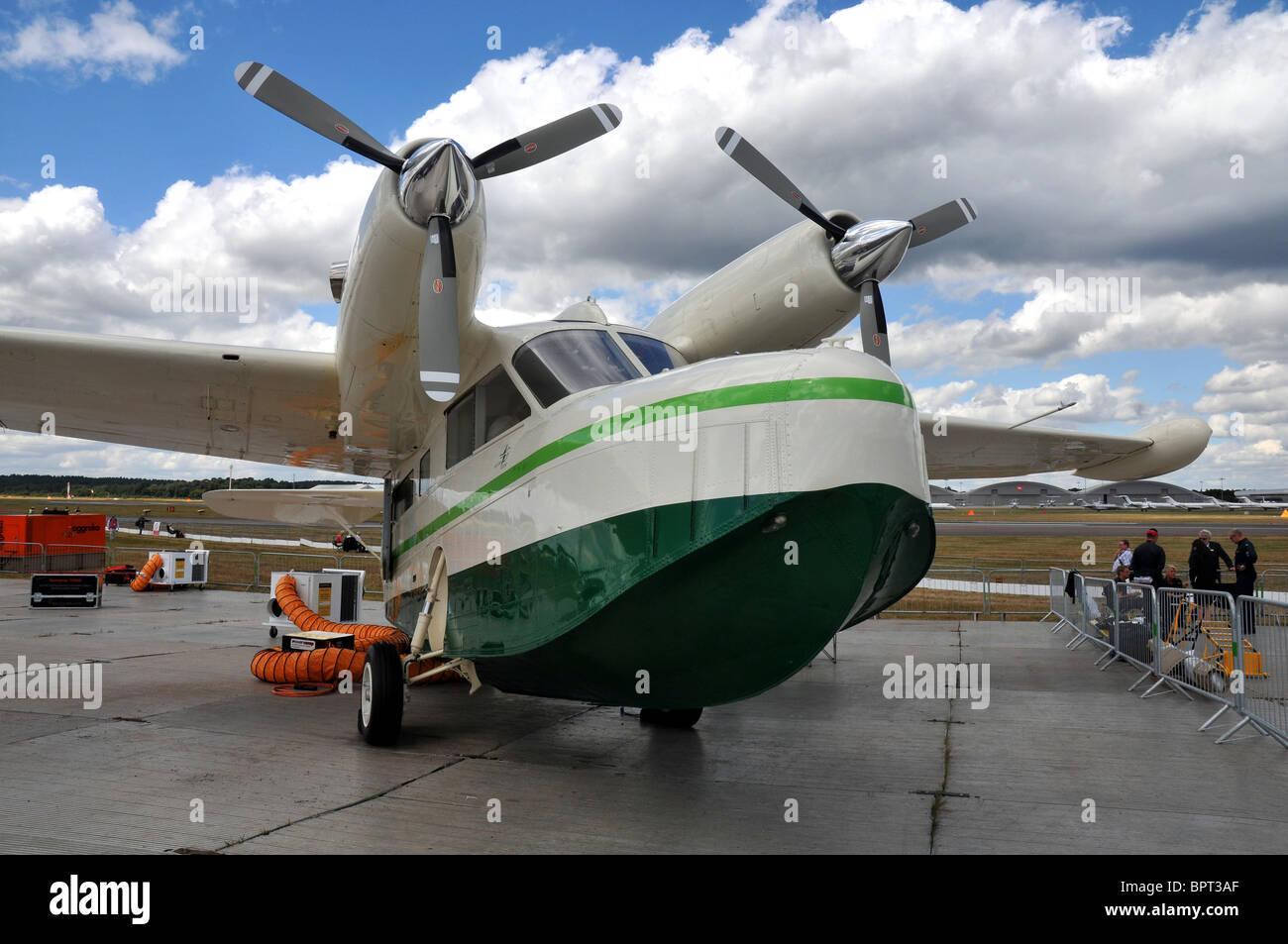 Grummen flying boat - Stock Image