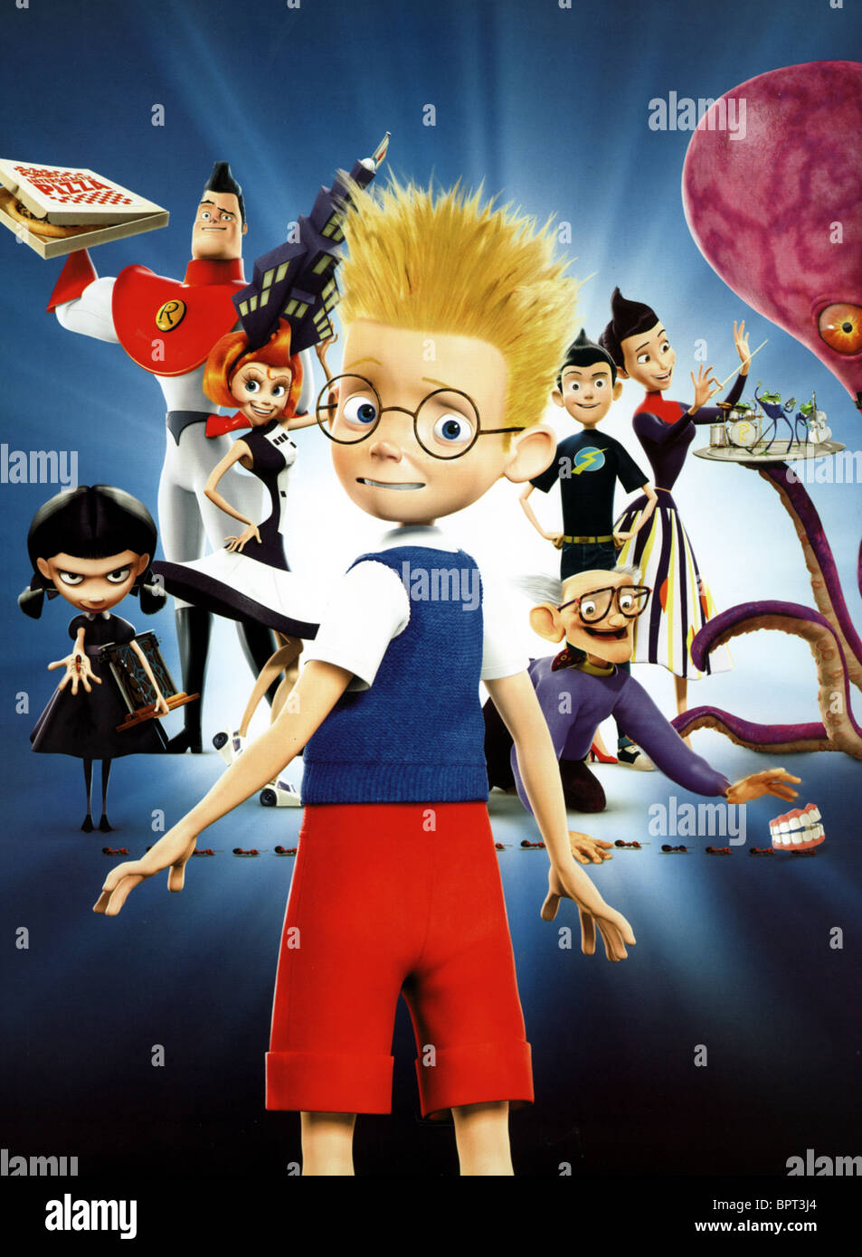 THE ROBINSONS MEET THE ROBINSONS (2007) - Stock Image