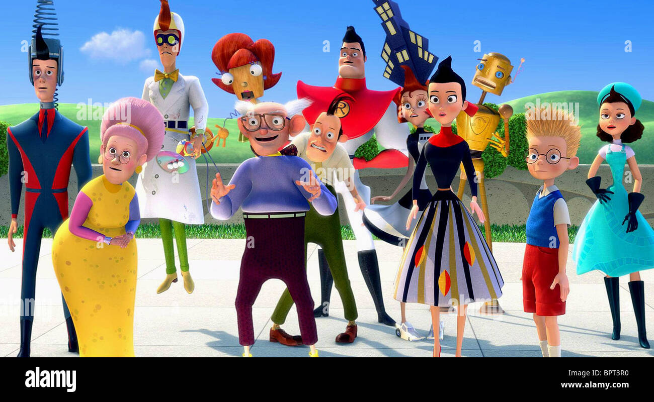 THE ROBINSONS MEET THE ROBINSONS (2007) Stock Photo