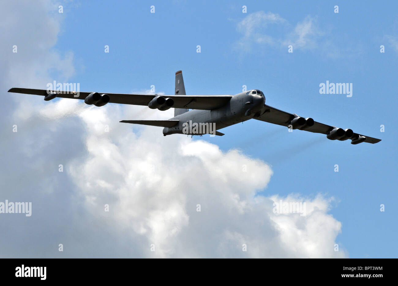 B-52 Strategic Bomber, B52 bomber - Stock Image