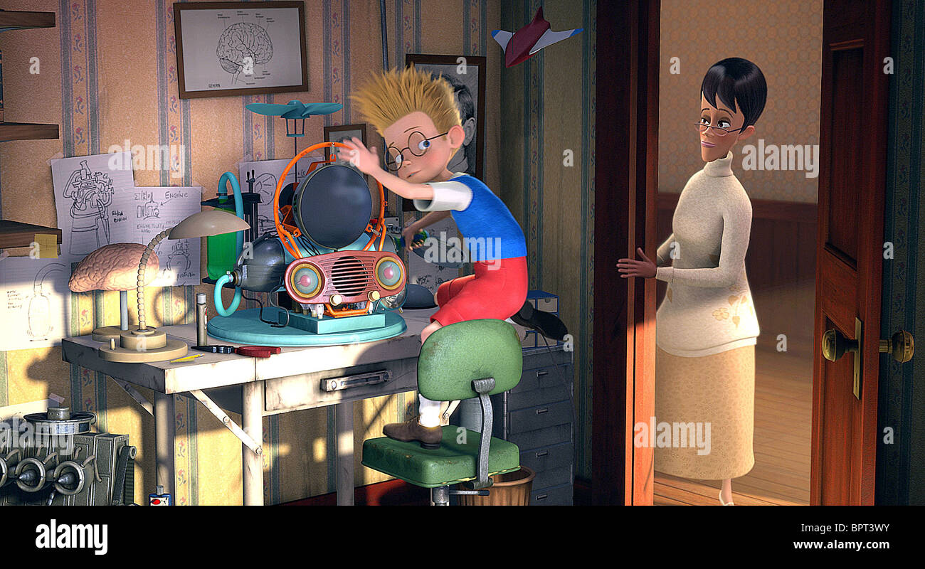 LEWIS & MILDRED MEET THE ROBINSONS (2007) - Stock Image