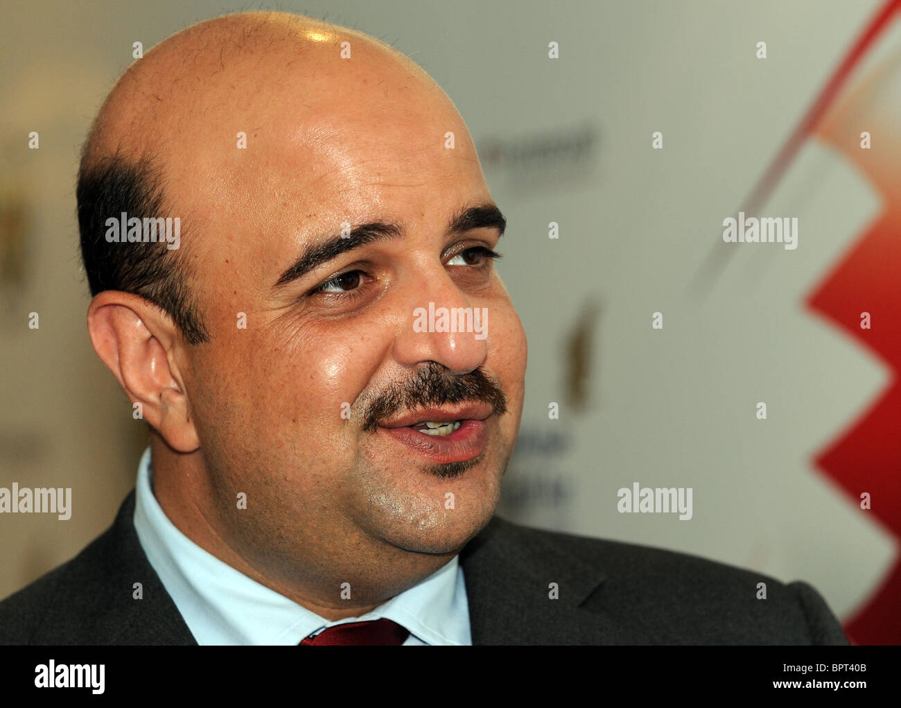 Prince of Bahrain, Shaikh Abdulla bin Hamad Al Khalifa, Sheikh Abdullah Bin Hamad Bin Isa Al-Khalifa - Stock Image