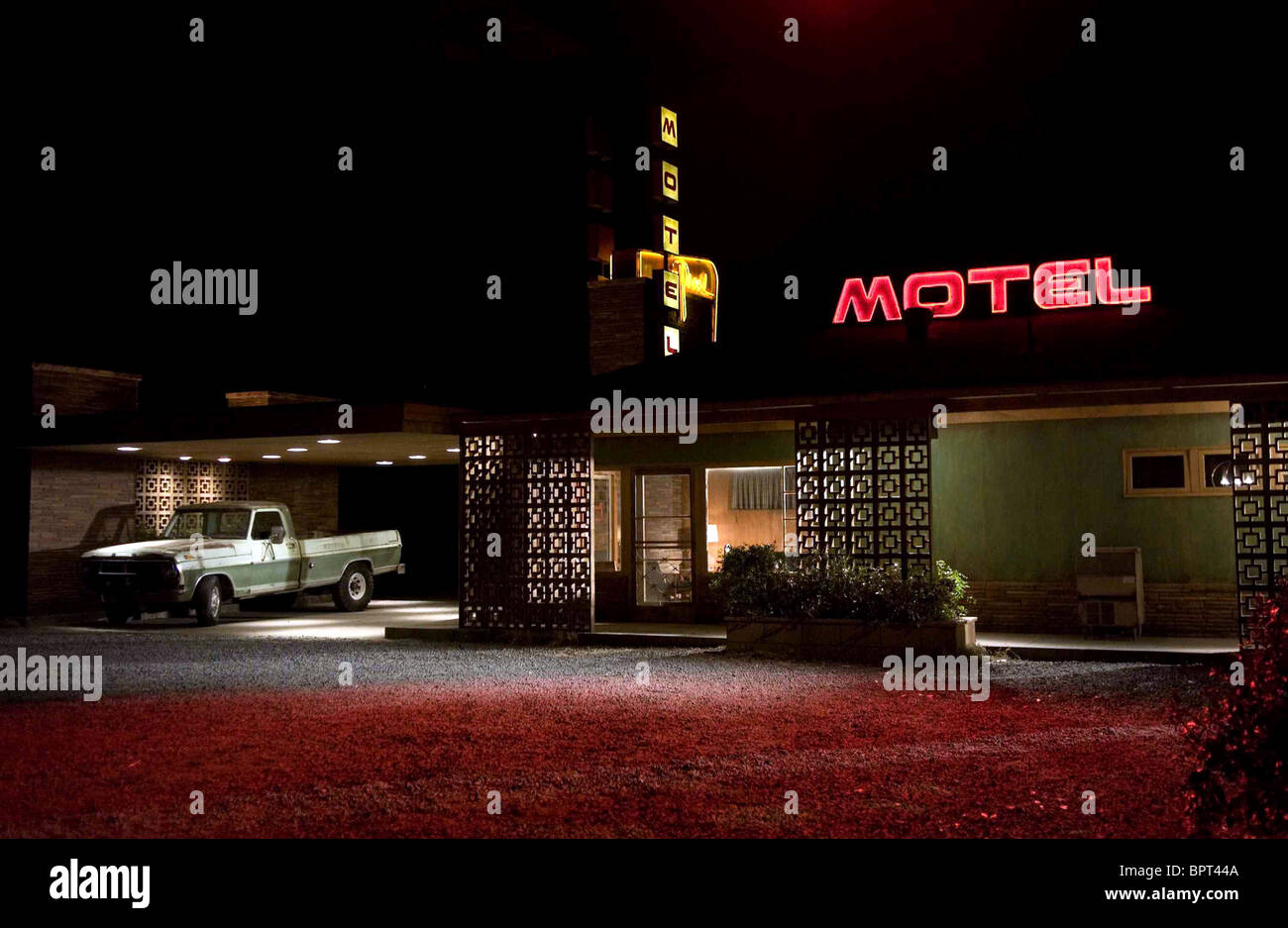 MOTEL VACANCY (2007) - Stock Image
