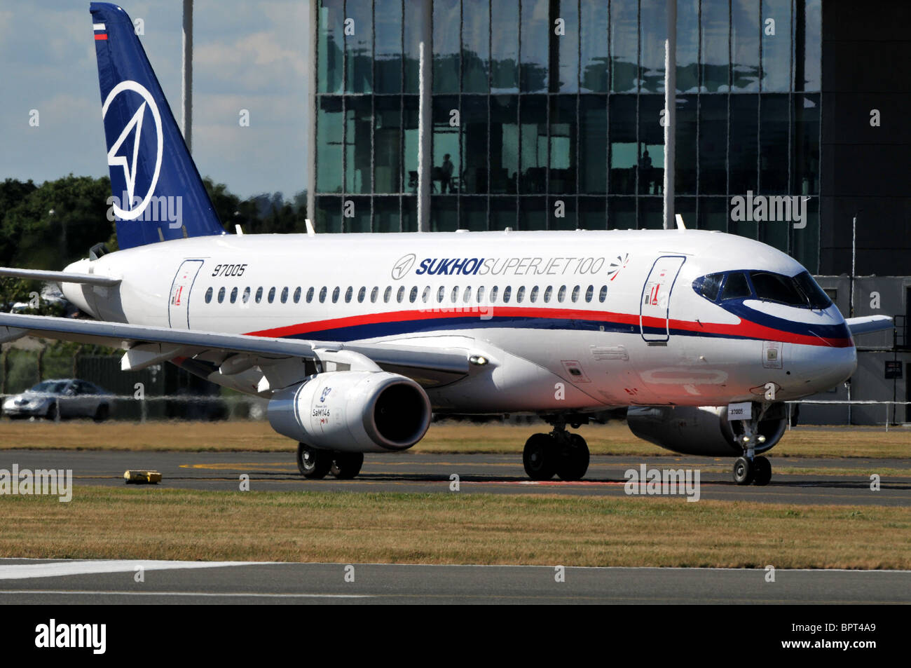 Sukhoi Superjet 100-95 - Stock Image