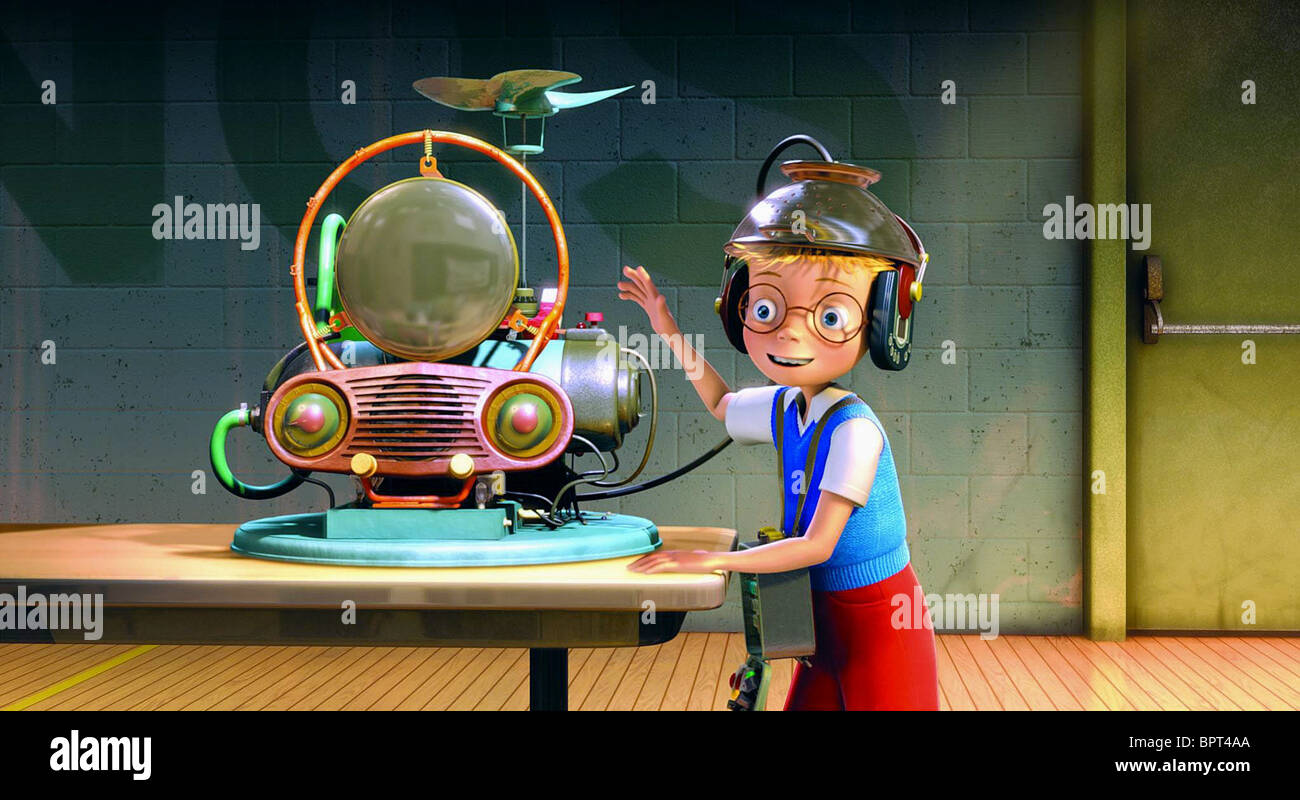 LEWIS ROBINSON MEET THE ROBINSONS (2007) - Stock Image