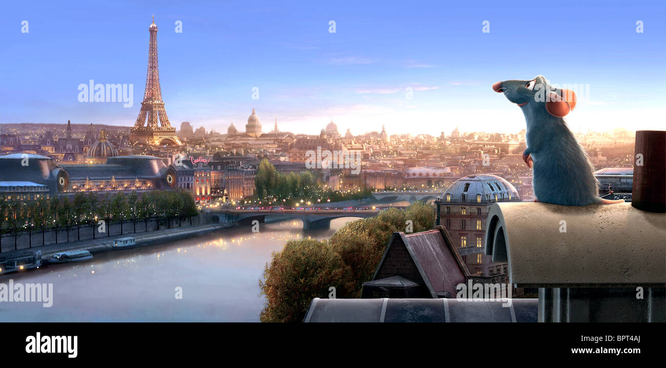 REMY RATATOUILLE (2007) - Stock Image