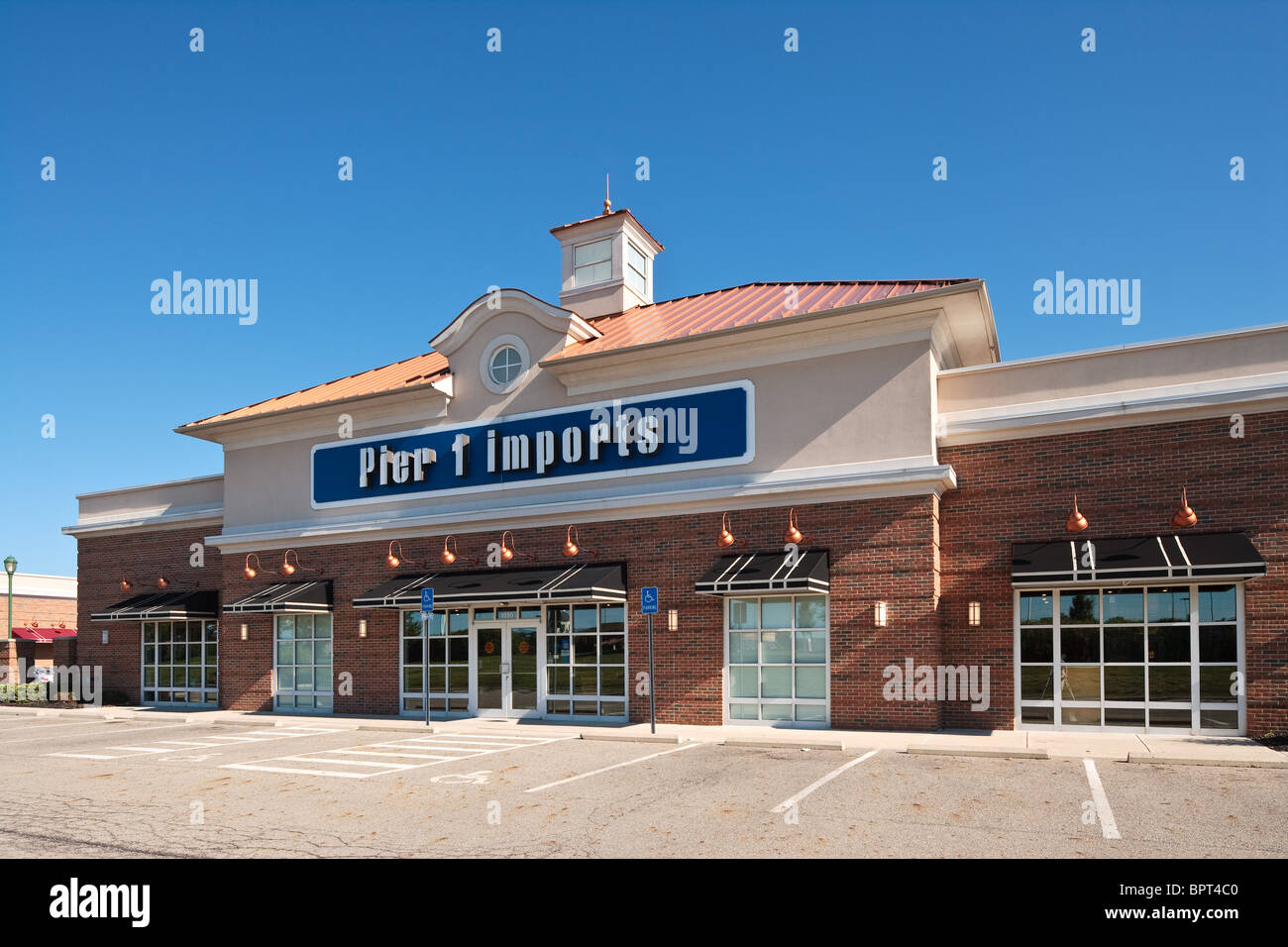Pier 1 Imports at Polaris Fashion Place in Columbus Ohio - Stock Image