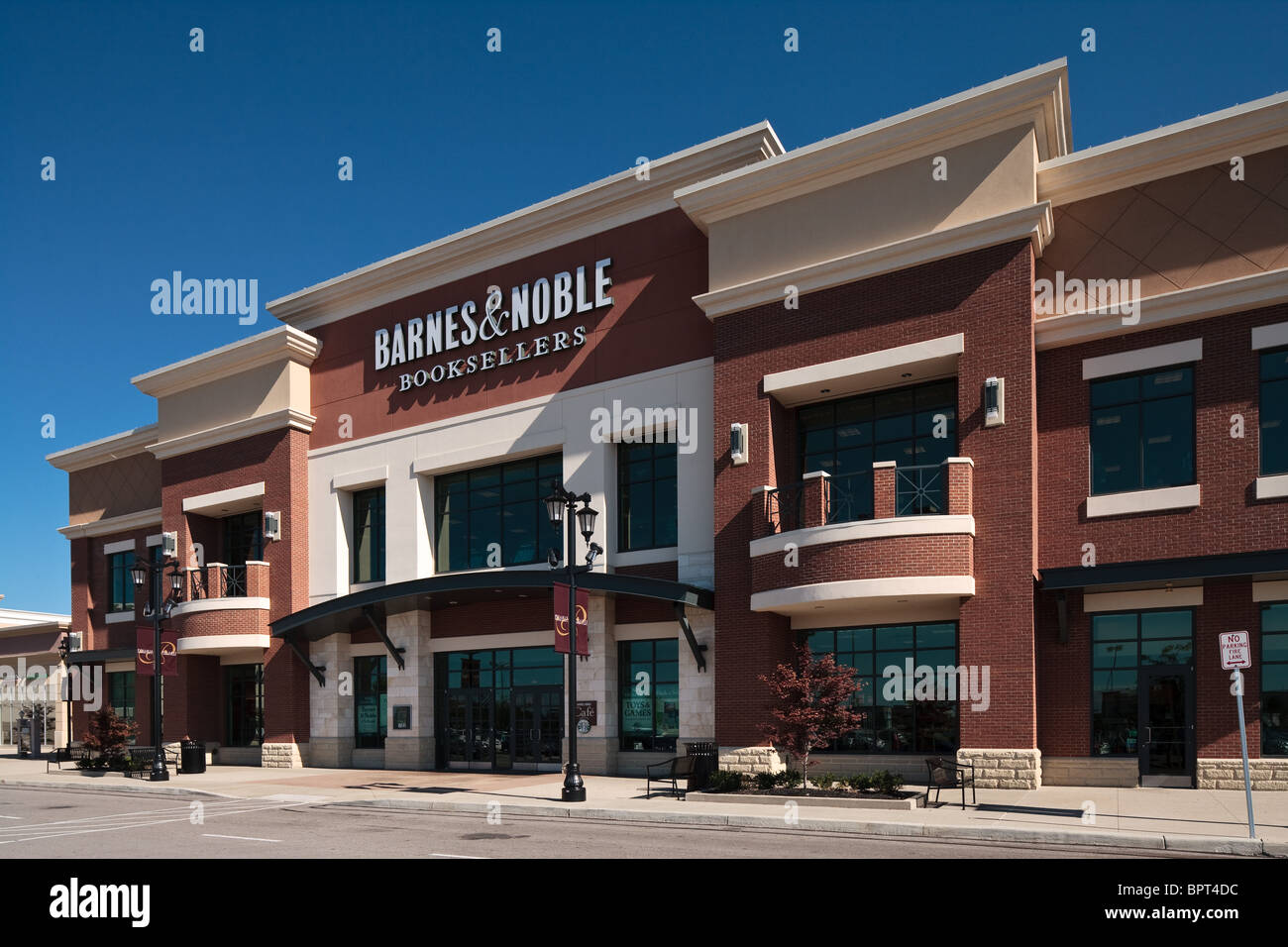 Barnes and Noble Booksellers at Polaris Fashion Place in Columbus Ohio - Stock Image