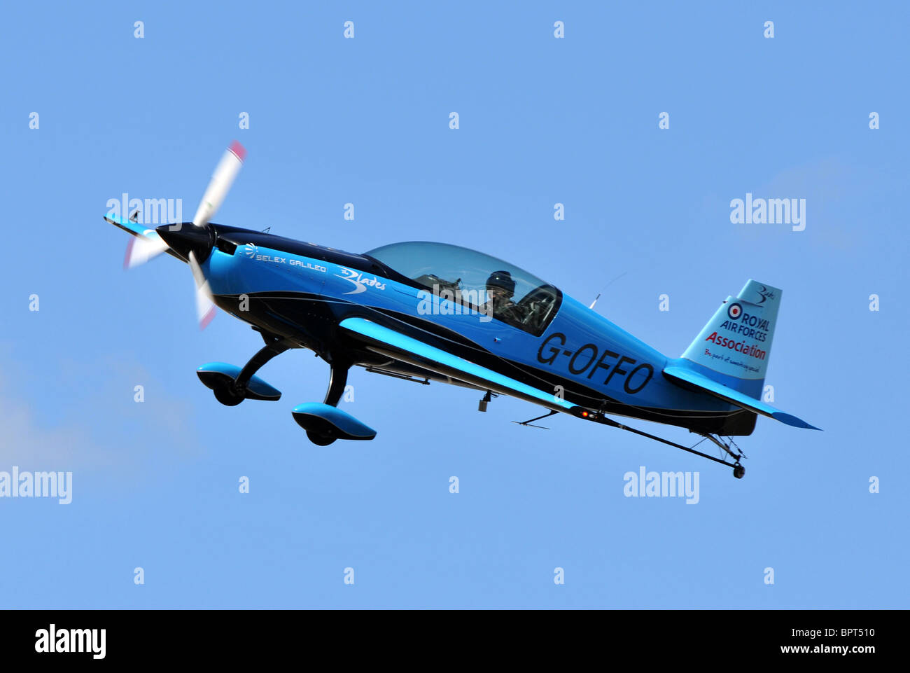 EA300L, Extra Flugzeugbau EA300L, The Blades display aircraft EA300L - Stock Image