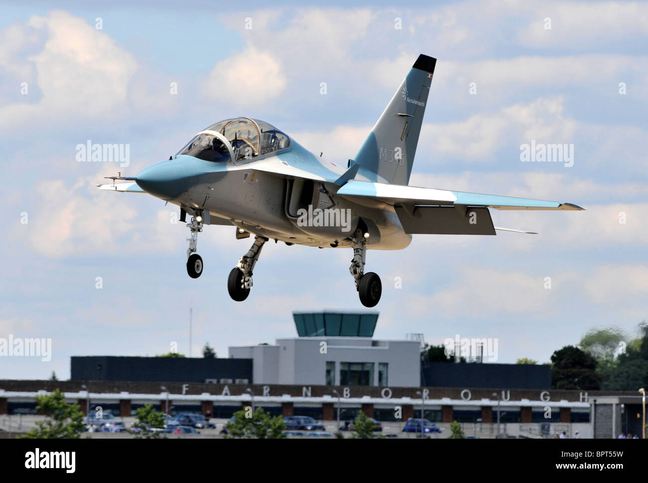 Alenia Aermacchi M-346 Master military trainer aircraft - Stock Image