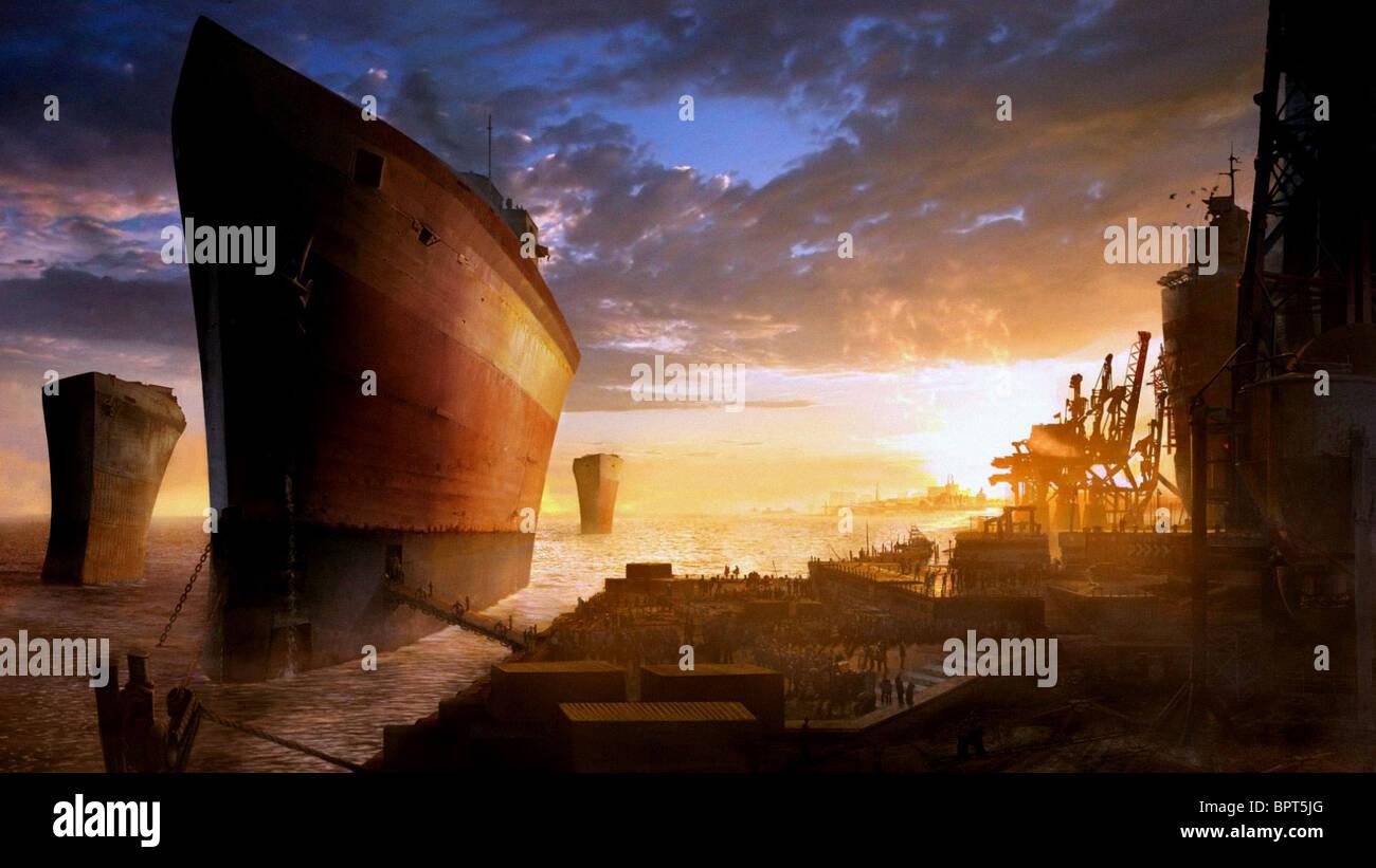 SURVIVORS BOARD HUGE SHIPS ARK (2007) - Stock Image