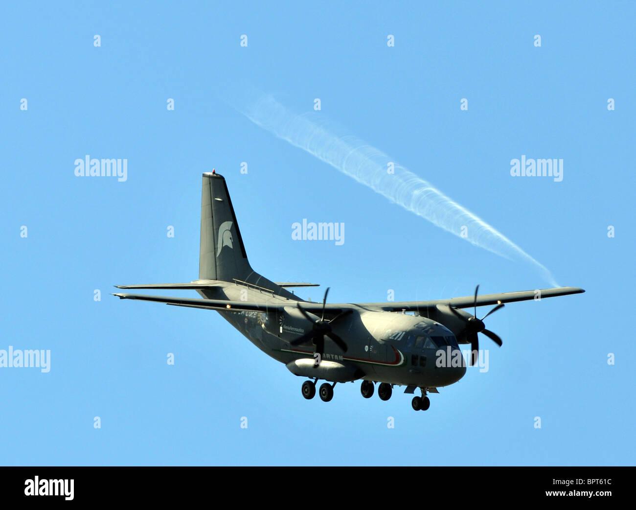Spartan C-27J Aircraft military transport plane USAF - Stock Image