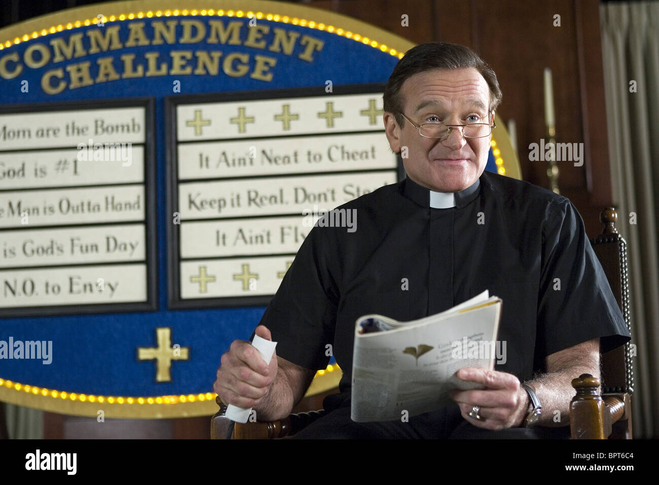 ROBIN WILLIAMS LICENSE TO WED (2007) - Stock Image