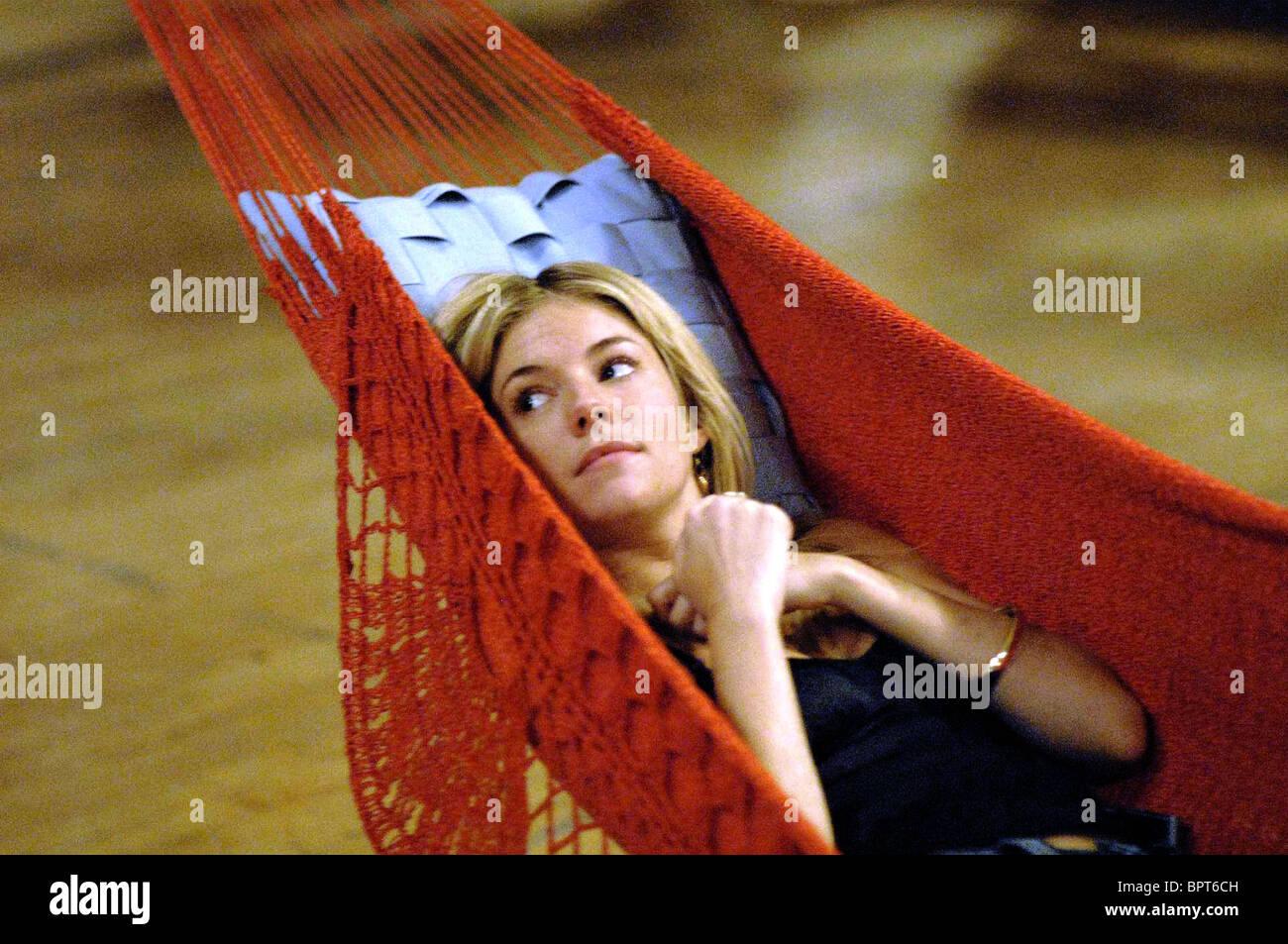 SIENNA MILLER INTERVIEW (2007) - Stock Image