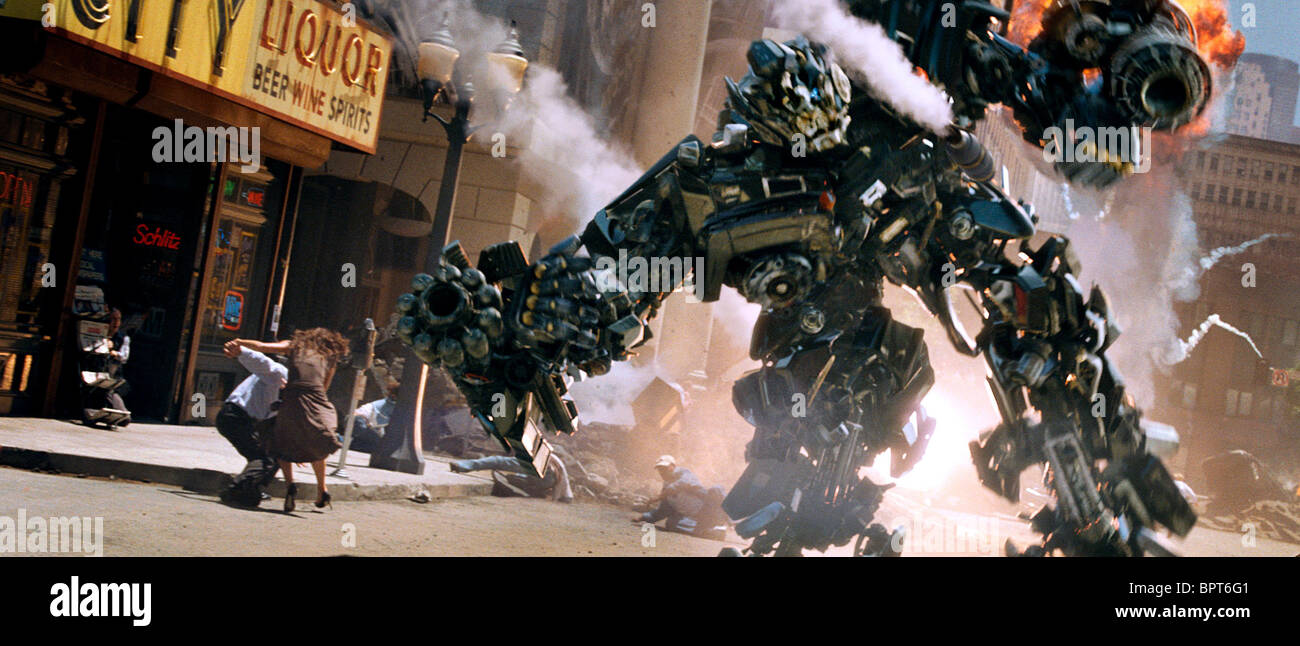 IRONHIDE TRANSFORMERS (2007) Stock Photo